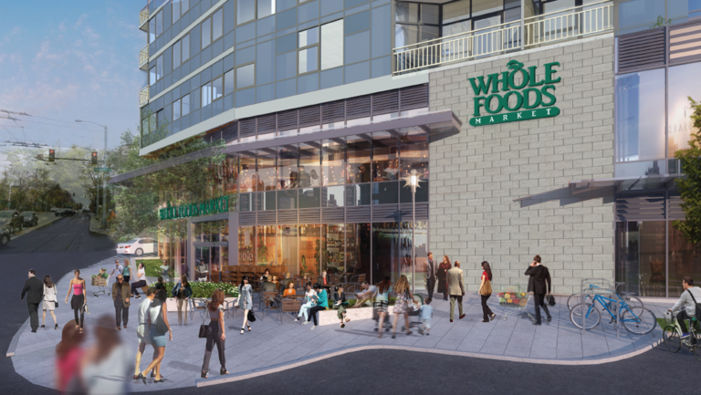 Whole Foods Market will open at the Danforth Fall 2018.