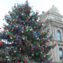 Christmas tree lights up in St. Clairsville