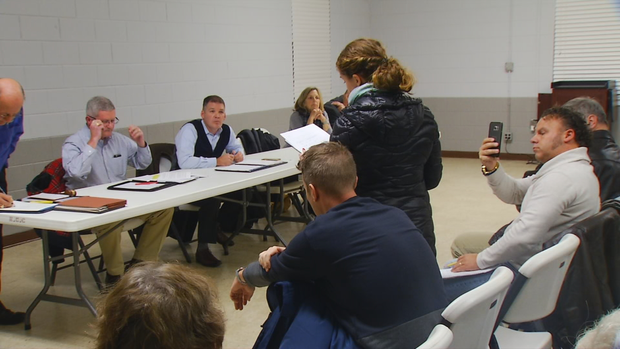 Thursday night, two County Commissioners and citizens called for more accountability, calling the issue a mess. (Photo Credit: WLOS Staff)<p></p>