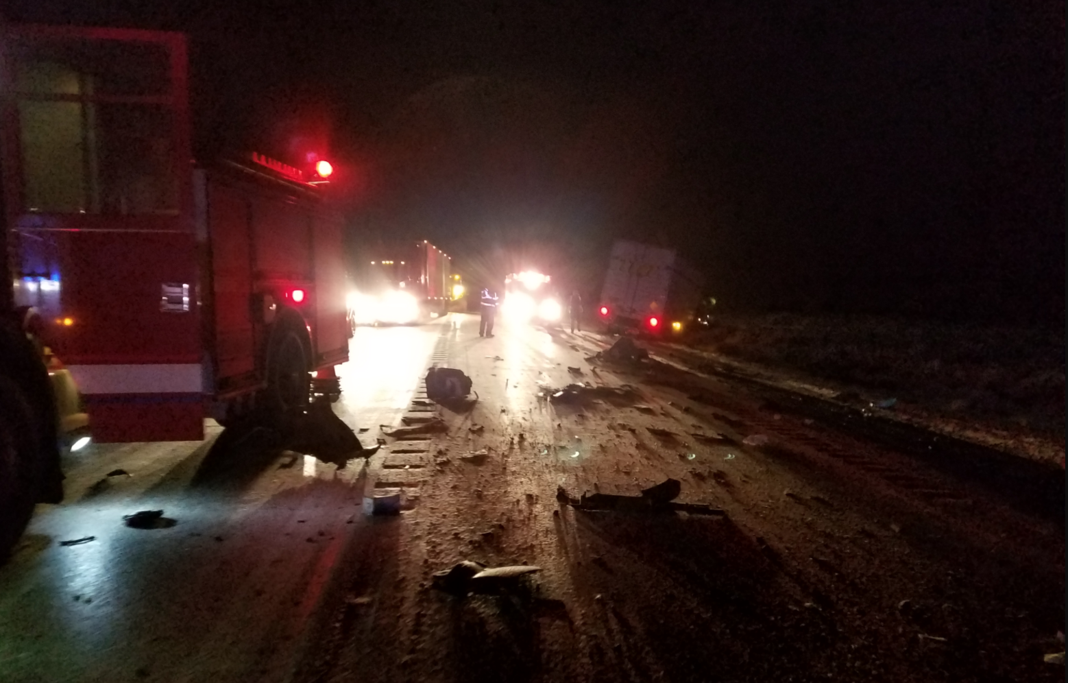 A man from Bend died in a head-on collision in Klamath County, Sunday night. (Oregon State Police)<p></p>