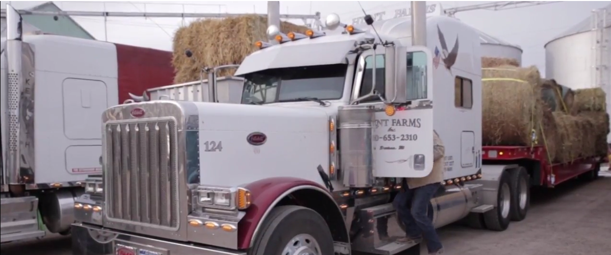 Joe Grombir and more than a dozen other farmers and truckers from mid-Michigan and the Thumb are hitting the road. (WEYI)