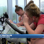 Chattanooga athletes of all ages compete in Indoor Triathlon