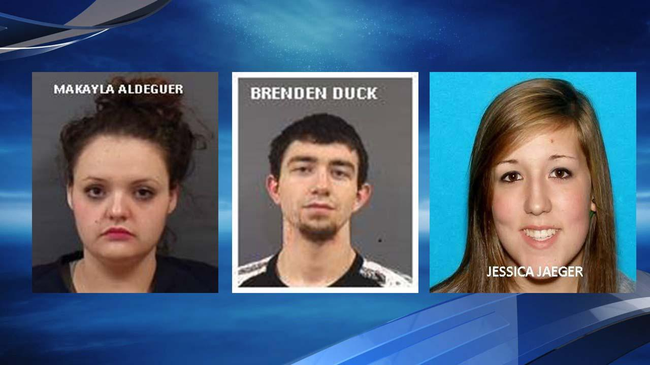 OSP searching for 3 persons of interest (Photo form Oregon State Police).