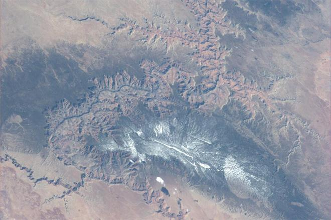 Nice view of Grand Canyon in the US (Photo & Caption courtesy Koichi Wakata (@Astro_Wakata) and NASA)