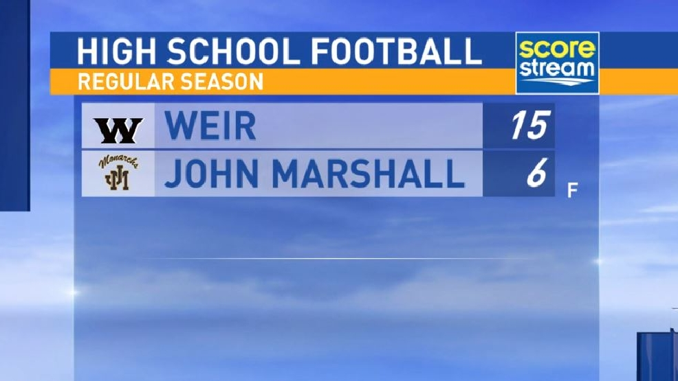 9.9.16 Highlights: Weir at John Marshall