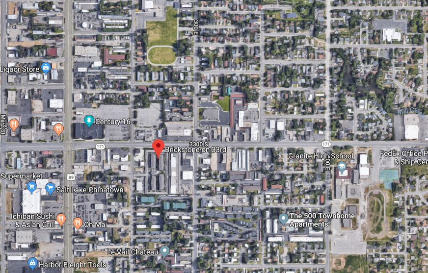 Man shot while trying to break into apartment, police say. (Photo courtesy of Google Maps)