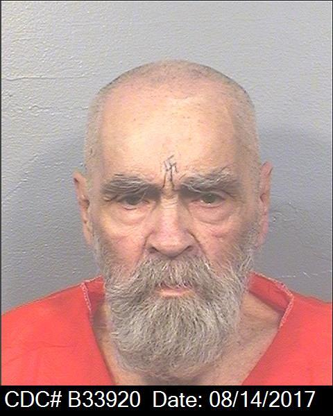Newest Corcoran Prison photo of Charles Manson. (CDCR)
