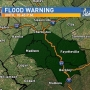Flood warning issued for parts of West Virginia, including Kanawha