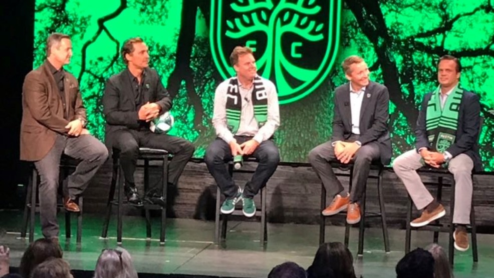Matthew McConaughey announced as one of four local owners of Austin FC
