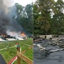 House flattened after explosion in Calvert County
