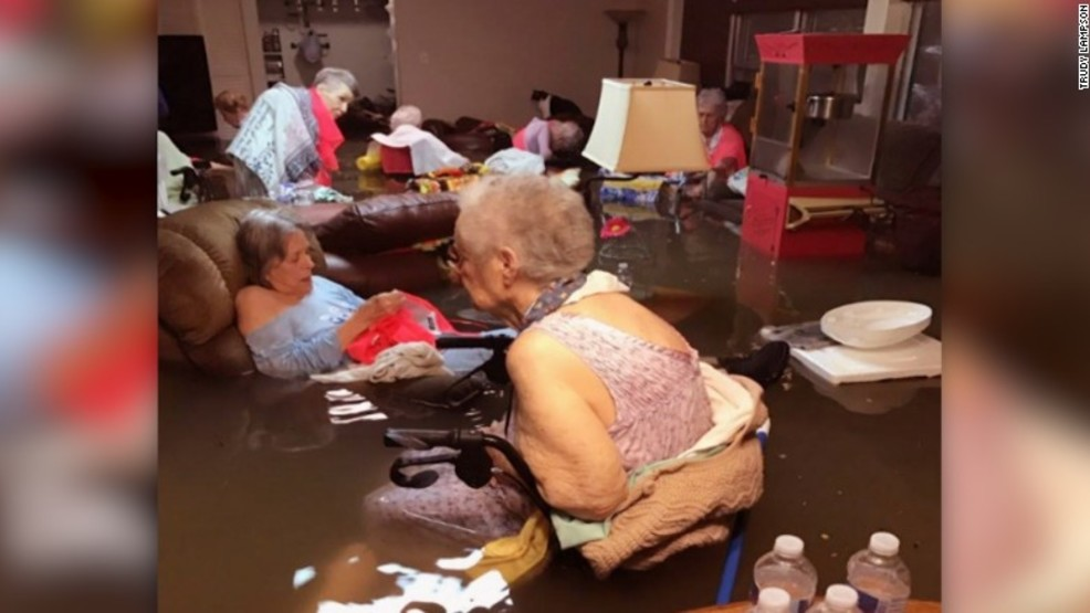 Flooded Nursing Home Tx Where S The Cat