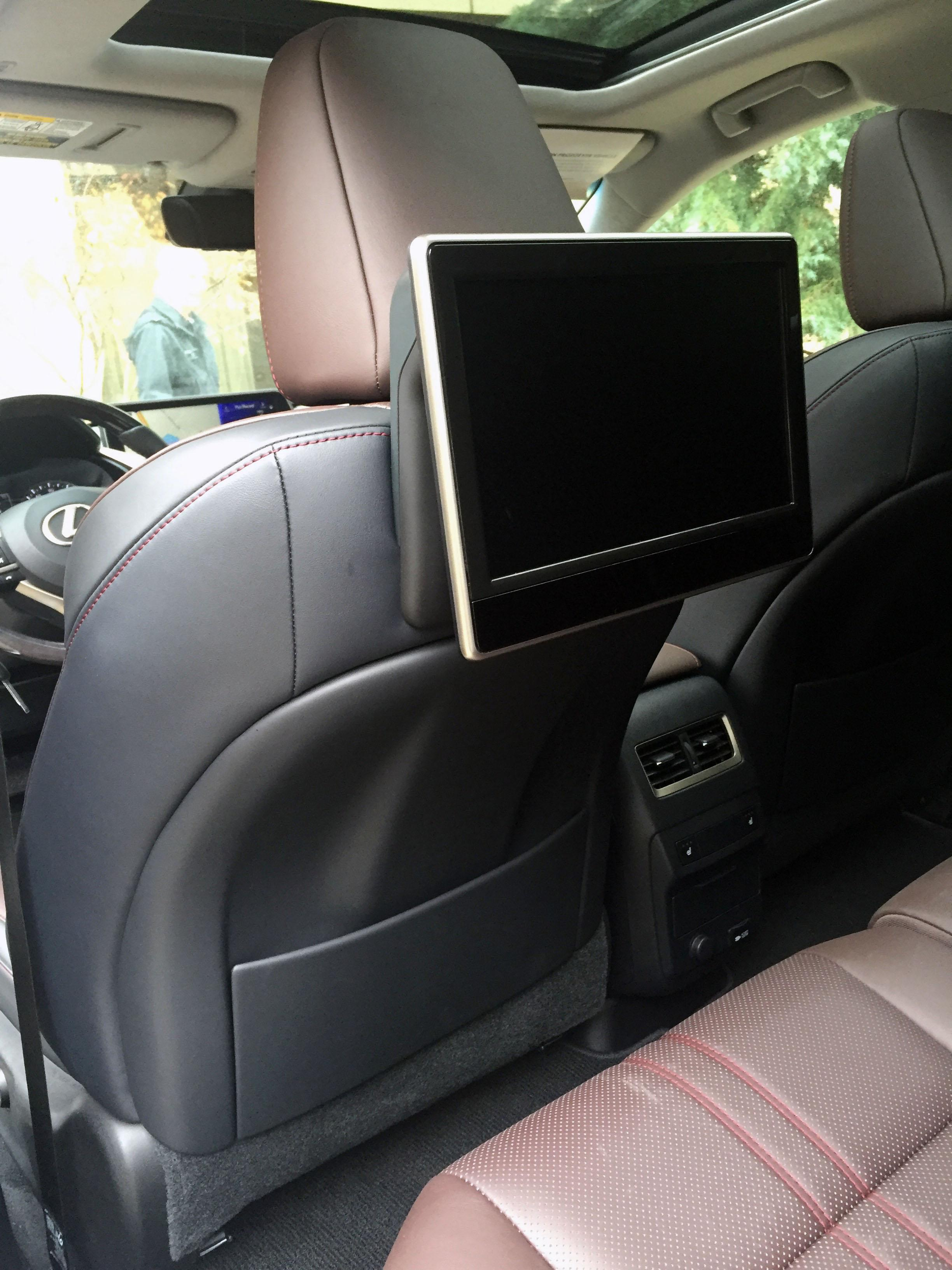2016 Lexus RX available rear-seat entertainment