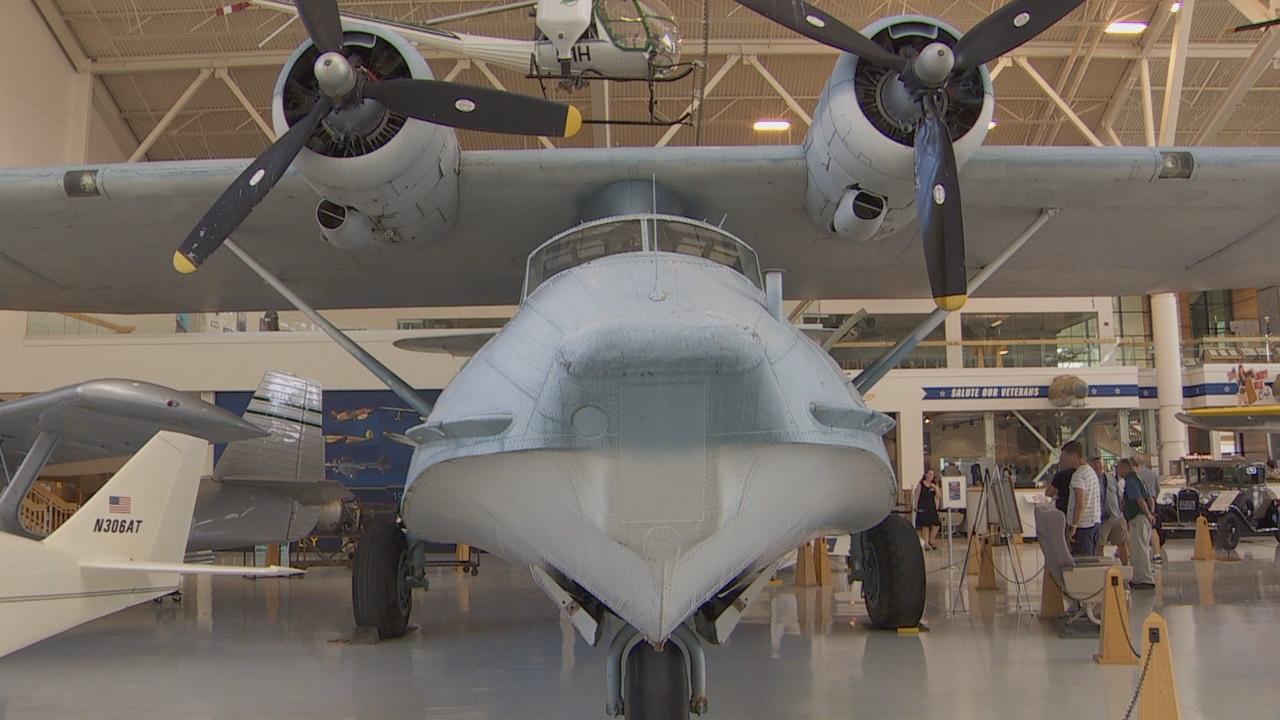 A PBY Catalina at Evergreen Air & Space Museum. (KATU)