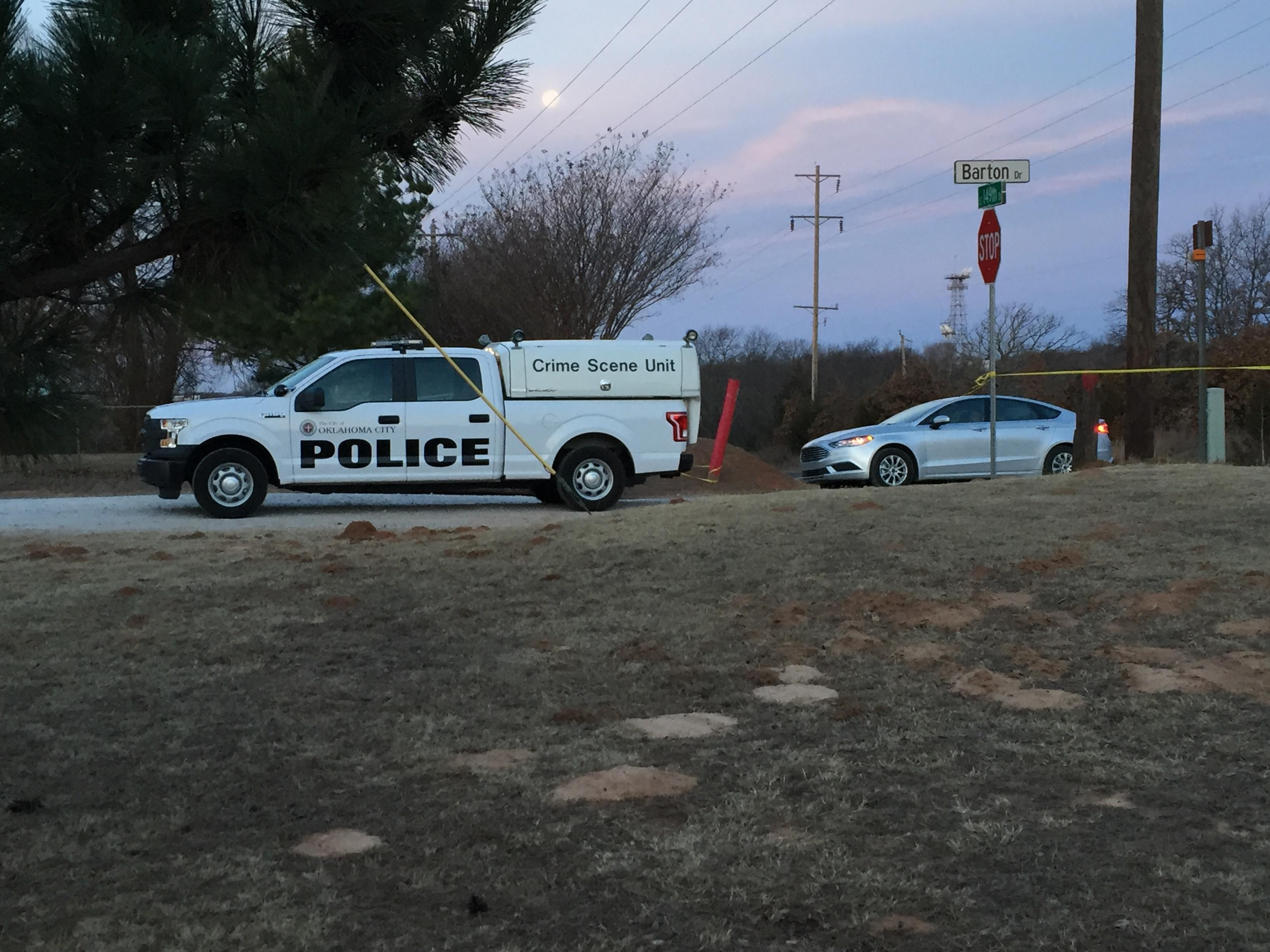 Police investigate fatal officer-involved shooting near Peebly Rd. and SE 149th St. (Wayne Stafford/KOKH)