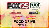 FOX 25 Thanksgiving Food Drive