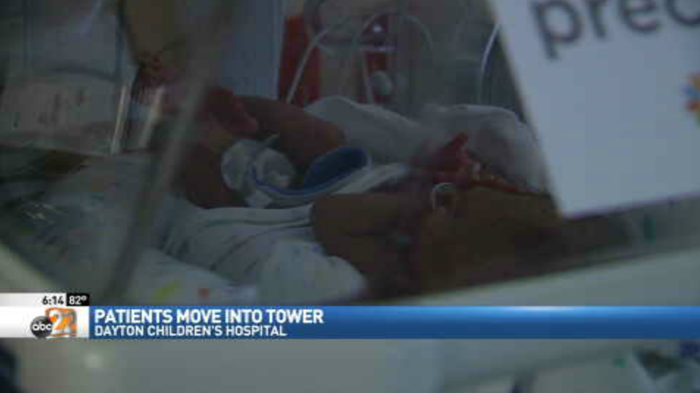 Patients move into new tower at Dayton Children's Hospital ...