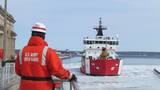 Coast Guard cutters clear the way for opening day at Soo Locks