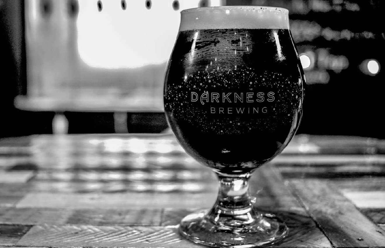Darkness Brewing is a new micro-brewery in Bellevue that focuses on dark beer. Its taproom is situated inside an eclectic space with a relaxing ambiance and interesting wall art. ADDRESS: 224 Fairfield Ave., Bellevue, Kentucky / Image: Tommy Zipperstein // Published: 2.5.17