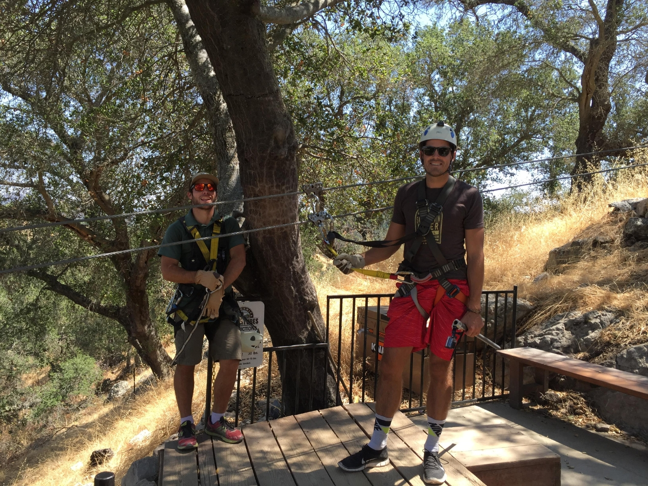 In a three hour tour with Margarita Adventures, you'll hit six ziplines of various heights and speeds.