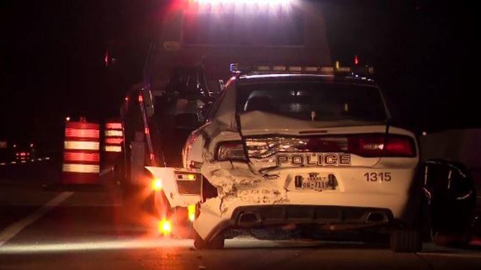 Vidor police officer hospitalized after I-10 accident | KFDM