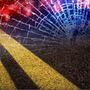 Man dies after vehicle leaves roadway, crashes into creek