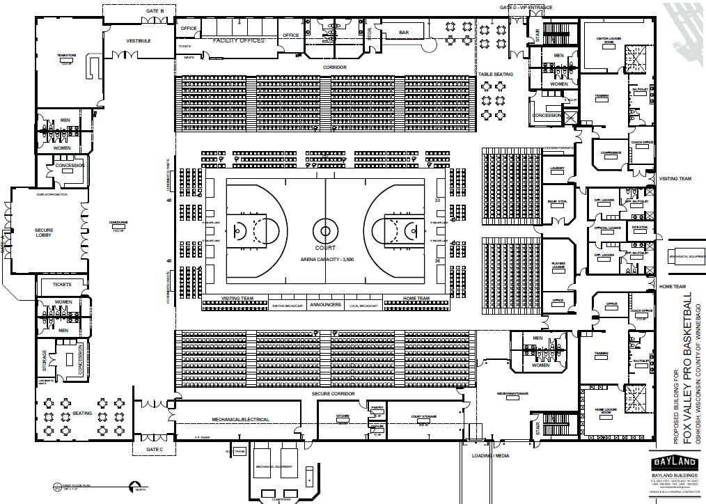 Basketball Floor Plans 28 Images Renovated Memorial