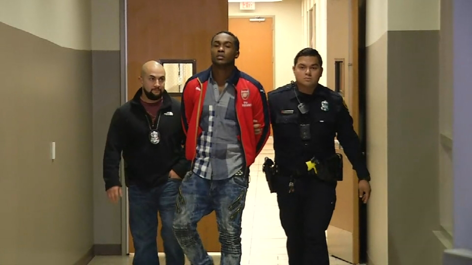 Police arrested Rakim Sharkey, 24, Thursday on sex trafficking charges. (SBG Photo)