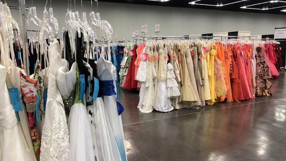 368ddbb3db Abby s Closet offers thousands of free prom dresses to local students this  weekend