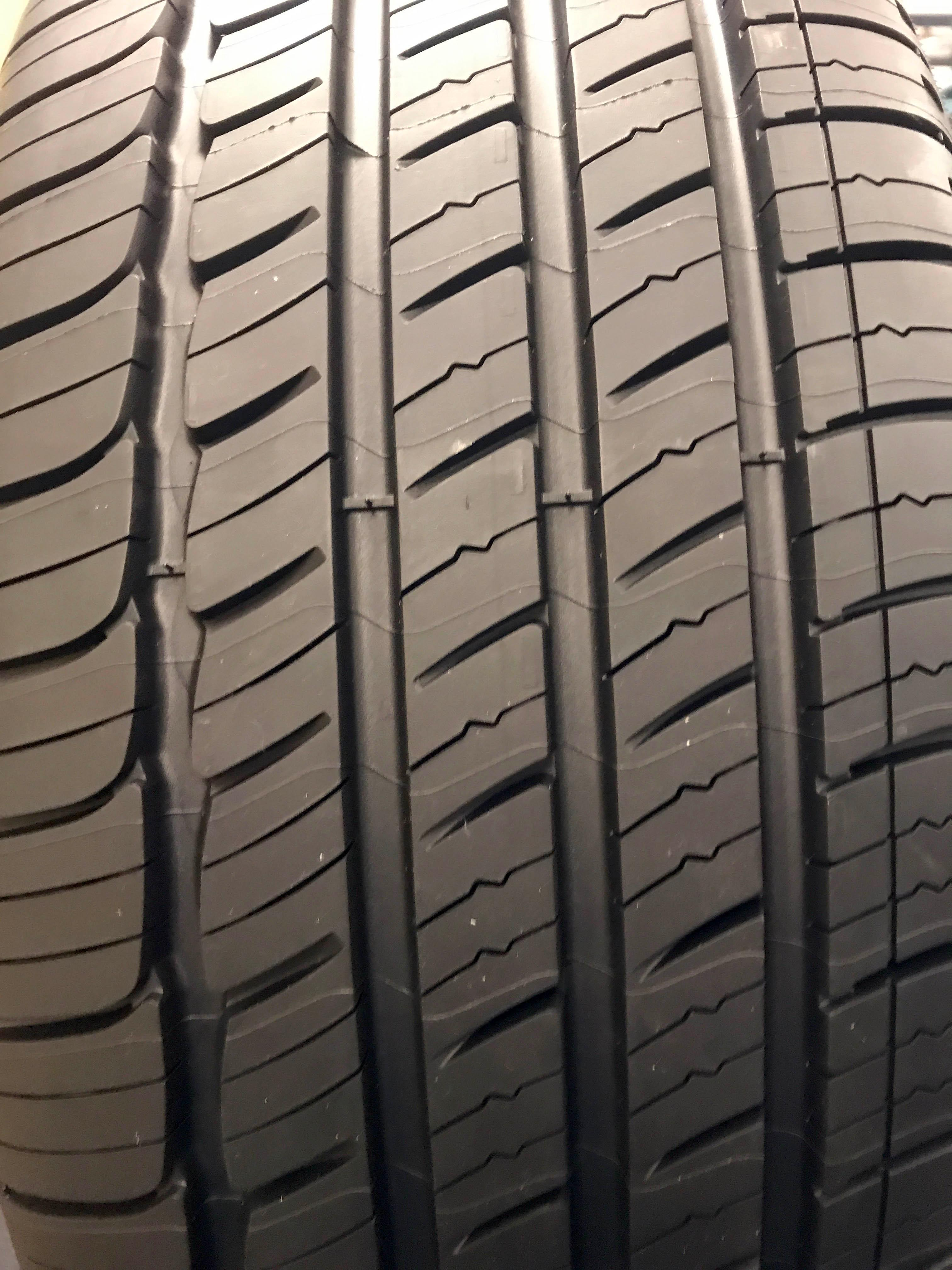 Grooves and sipes on Michelin all-season tires (Sinclair Broadcast Group / Jill Ciminillo)<p></p>