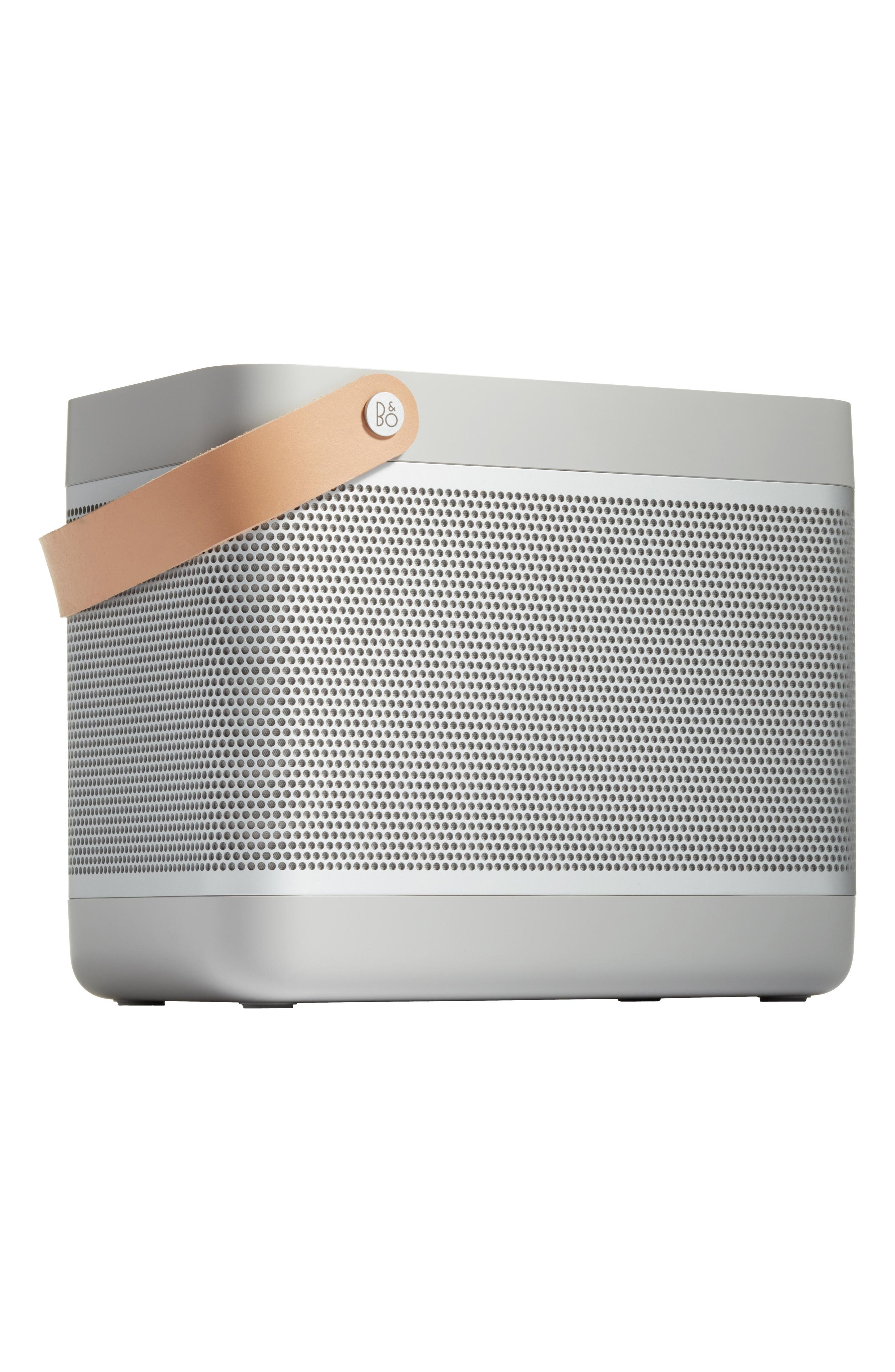 "B AND O PLAY BEOLIT 17 BLUETOOTH SPEAKER ($499). Nordstrom just launched their Pop-In@Nordstrom called ""GET'S WIRED"" with more than 125 tech products both in store and online. The selection has everything from underwater drones, 3D printers, wireless ear buds, Polaroid cameras, and more. (Image courtesy of Nordstrom)"