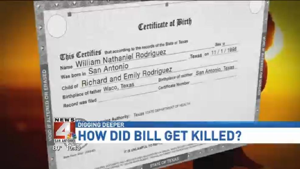 Birth Certificate Bill Blocked | WOAI