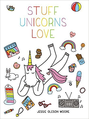 <p>Stuff Unicorns Love by Jessie Oleson Moore. Former Seattleite and Cakespy founder, Jessie Moore is out with a whimsical, humorous imaging of what unicorns really think and love. Stuff Unicorns Love will delight even the littlest unicorn fan. The book includes recipes for unicorn food, crafts and the history of these mythical creatures. Readers will enjoy this delightful book and its colorful illustrations while learning everything there is to know about magical unicorns. (Image: Amazon)</p>