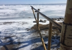 Lake Winnebago ice conditions in Oshkosh off Merritt Avenue Landing.JPG