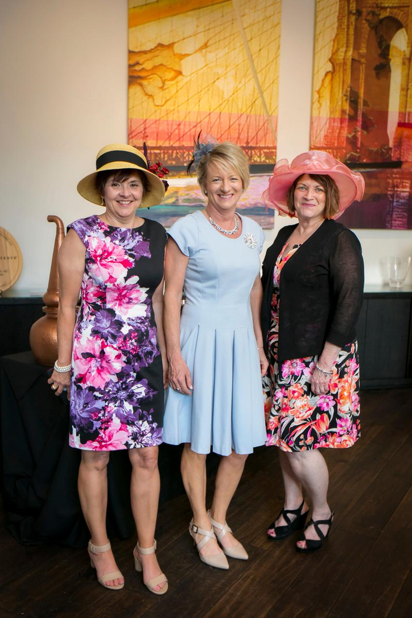 Lisa Wilson, Kim Coomer, and Margret Yates{ }/ Image: Mike Bresnen Photography{ }// Published: 4.17.19