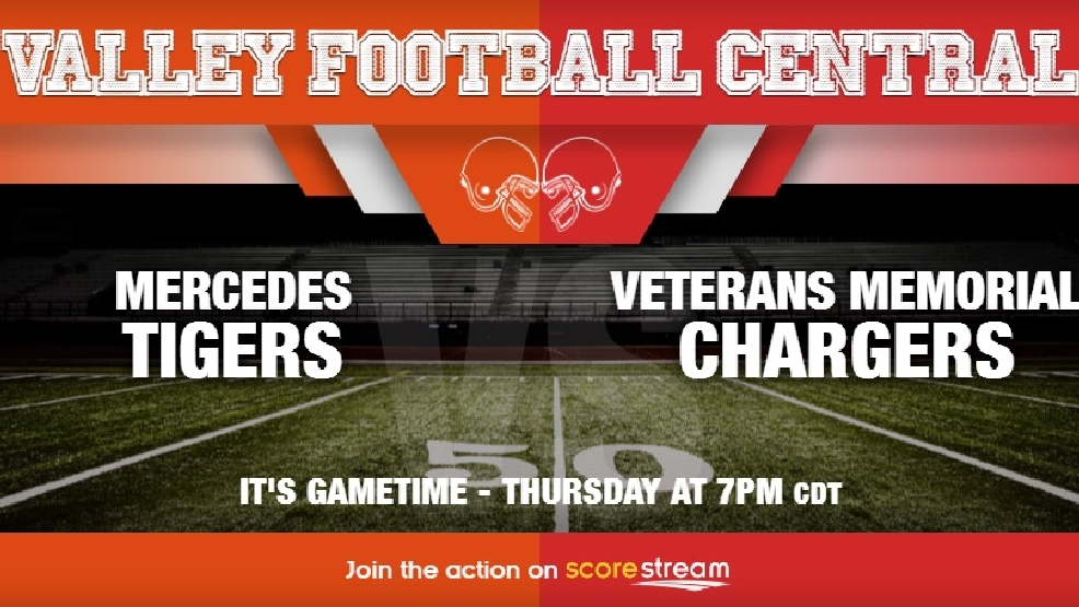 Watch Live: Mercedes Tigers vs. Brownsville Veterans Chargers