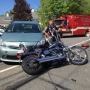 Man seriously injured in motorcycle crash