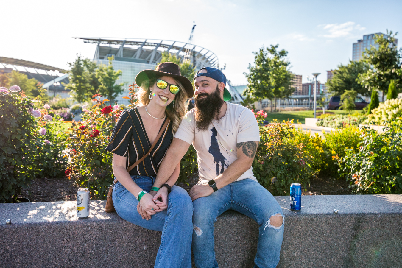 The Whispering Beard Folk Festival jammed for three days at Smale Park from Thursday, August 22 to Saturday, August 24. The festival was formerly held in Friendship, IN before coming to Cincinnati's riverfront this year. / Image: Catherine Viox // Published: 8.29.19