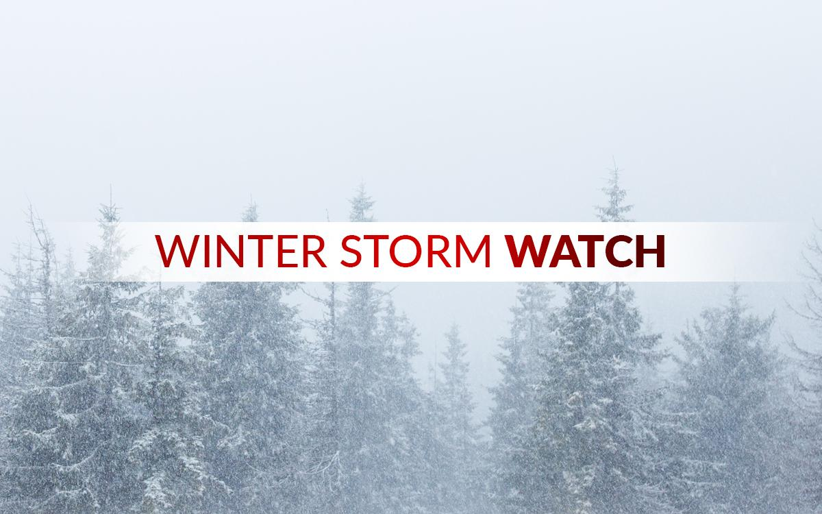 Winter Storm Watch issued for Oneida, Onondaga, and Madison counties
