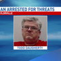 Taylorville man accused of making terroristic threats towards school