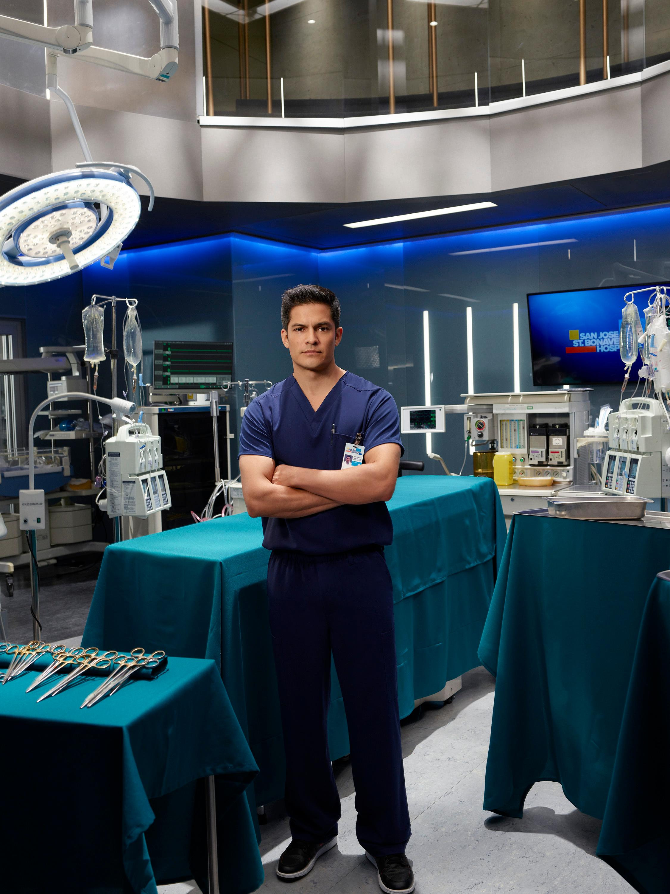 ABC's &quot;The Good Doctor&quot; stars Nicholas Gonzalez as Dr. Neil Melendez. (ABC/Bob D'Amico)<p></p>