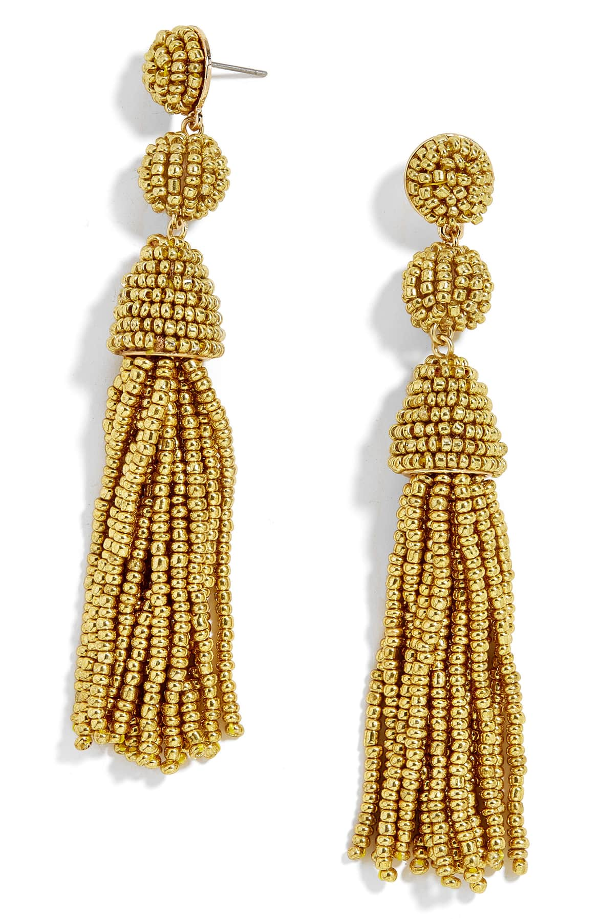 Beaded tassels make these lightweight drop earrings a fresh, fun addition to your retro-chic style. $38 (Image: Nordstrom)