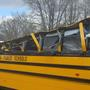 Greenville County school bus struck by falling tree, minor injuries only