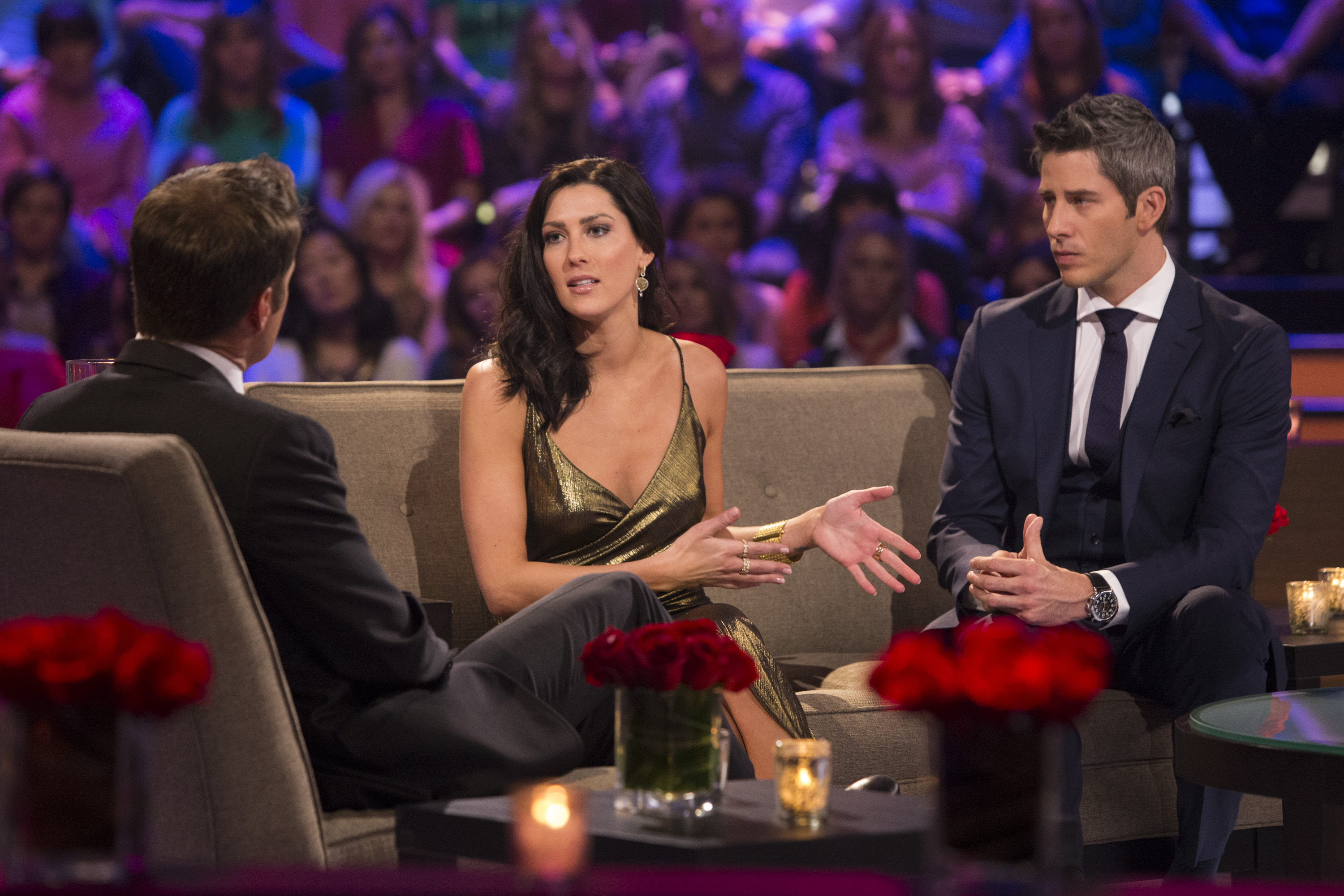 As predicted by just about everyone in #BachelorNation, Becca Kufrin, the winner turned runner-up of this past season of The Bachelor, was announced as the next Bachelorette at the end of last night's After The Final Rose episode. (Image: ABC/Paul Hebert)