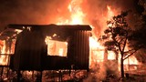 Fire destroys vacant home, cause under investigation