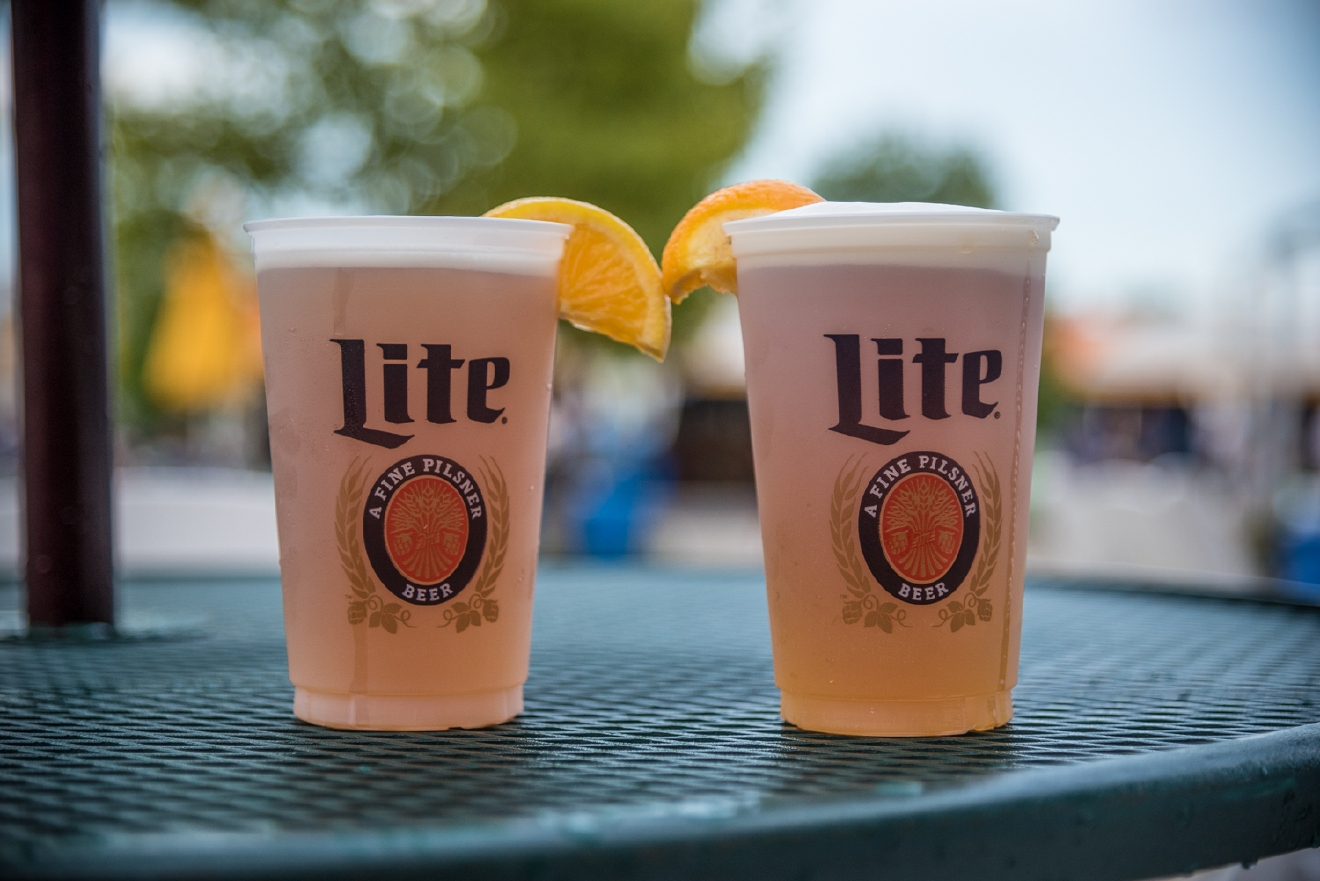 Blue Moon on draft from the Miller Lite Legends Bar / Image: Phil Armstrong, Cincinnati Refined