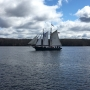 Maine's oldest sailing schooner returns to Bath