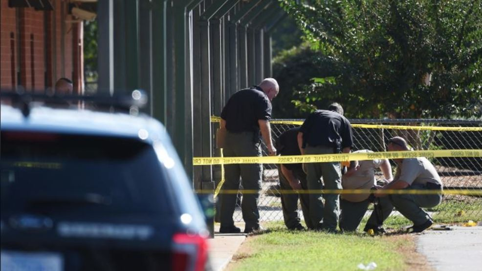 Townville Elementary School Shooting, Anderson, S.C. (AP Photo, Rainier Ehrhardt).JPG