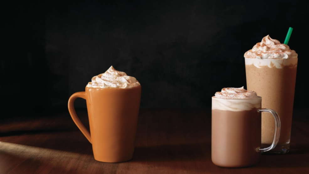 Too early for Pumpkin Spice Lattes? The broiling East Coast thinks so...