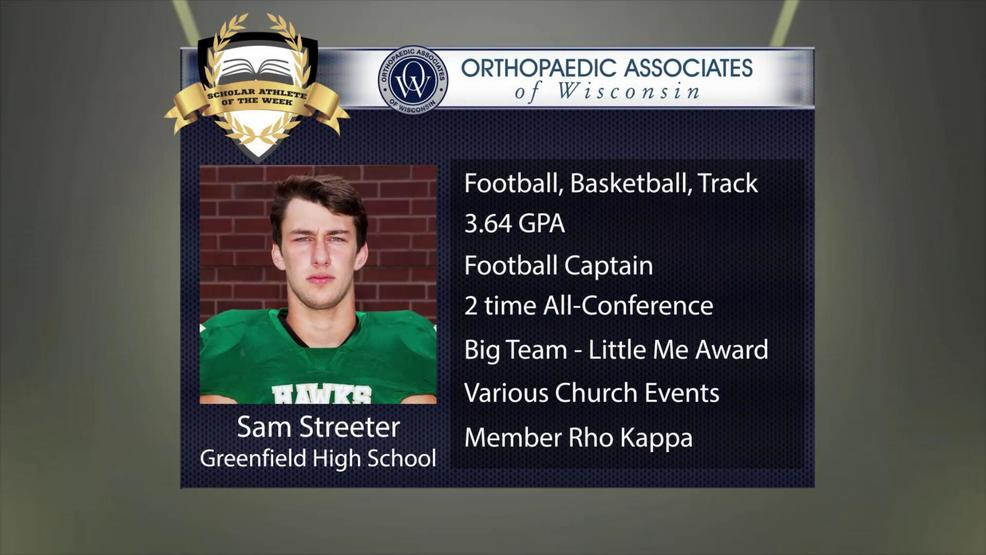OAW 2017 Scholar Athlete Nominee: Sam Streeter