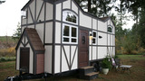 Photos: Tiny home in style of luxury Tudor mansion